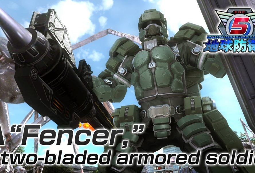 Earth Defense Force 5 pour cet été au Japon